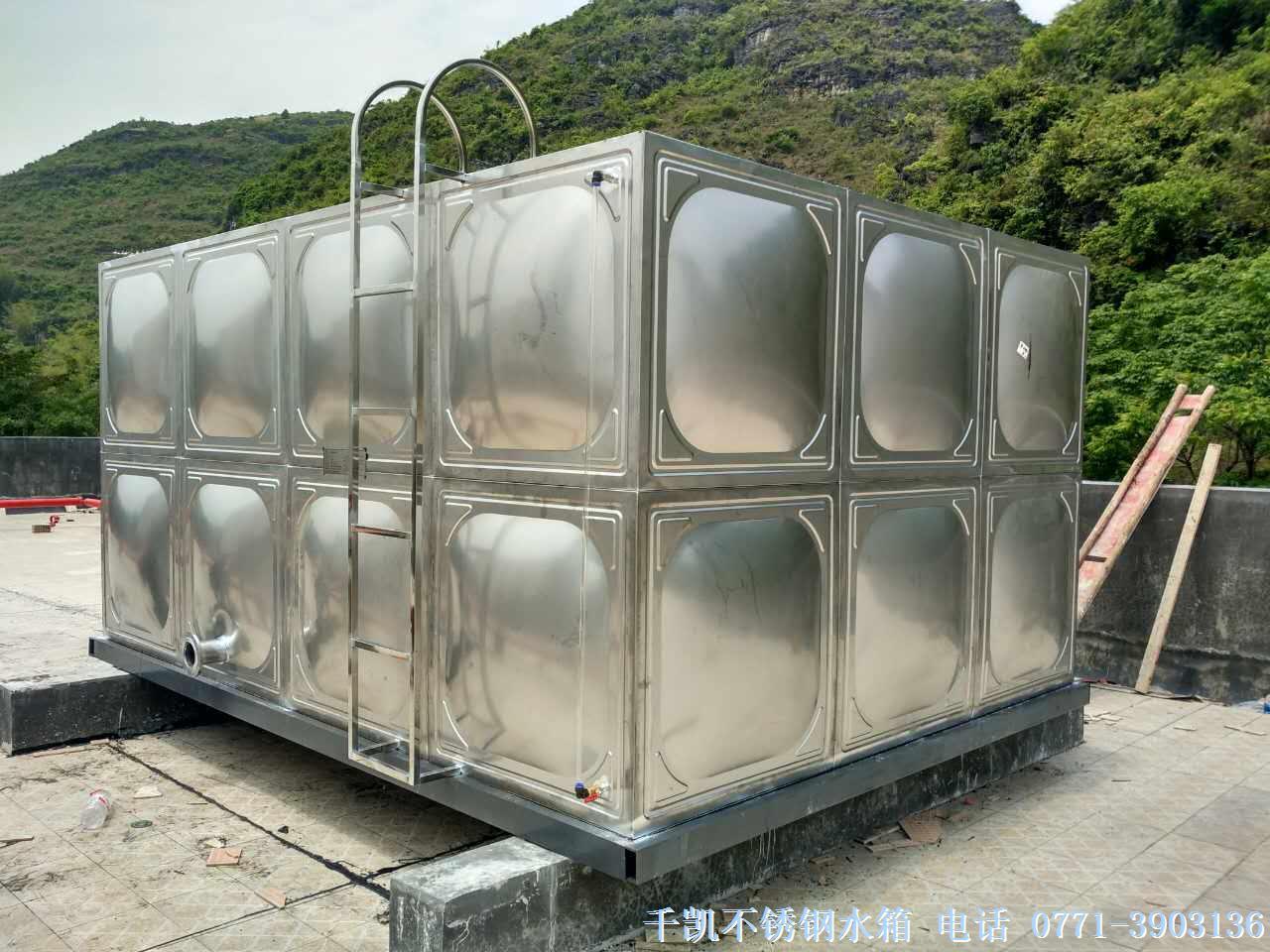 屋顶消防水箱是不锈钢水箱的一种用途类型, 屋顶消 防水箱是建筑